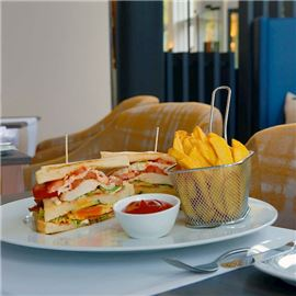 PURE Restaurant Offenbach - Clubsandwich